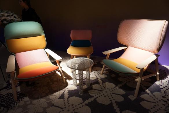 foto 09- Na moroso uma linda composição de cores pastéis nas peças de Patrícia Urquiola
