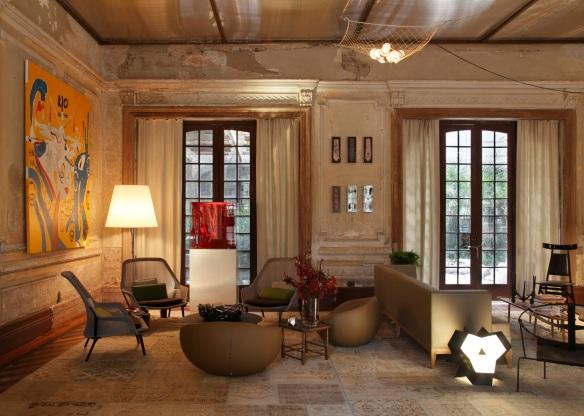 âgulo conversação Casa-Cor-2012 - projeto de Gisele Taranto - Foto André Nazareth